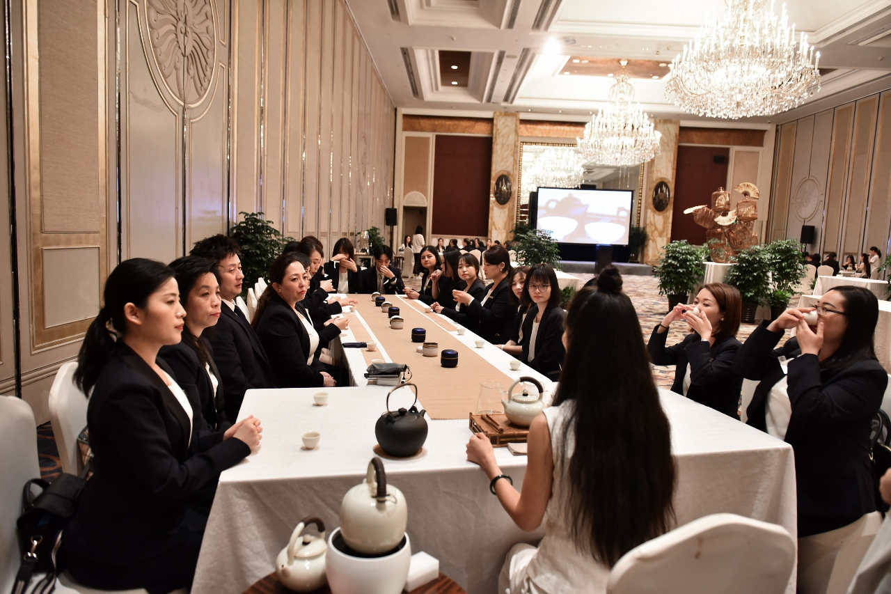 Global Training for over 500 people - Shangri-La Pudong.
